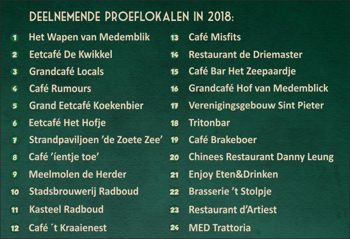 Proeflokalen 2018